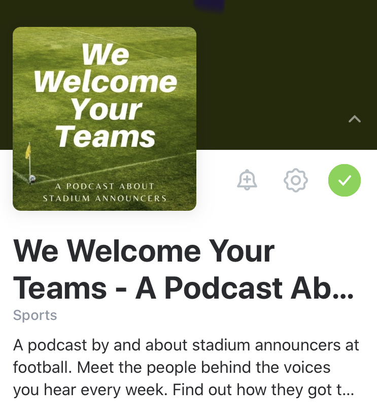 Podcast-homepage